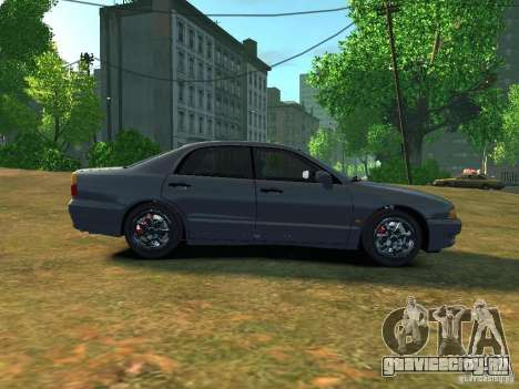Mitsubishi Diamante v2.0 для GTA 4 вид слева