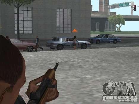 M1A1 Carbine для GTA San Andreas пятый скриншот