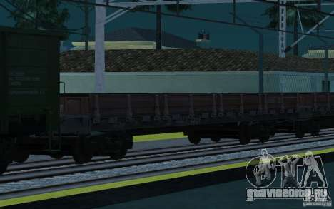 ЖД мод II для GTA San Andreas одинадцатый скриншот