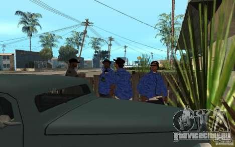 Crips 4 Life для GTA San Andreas