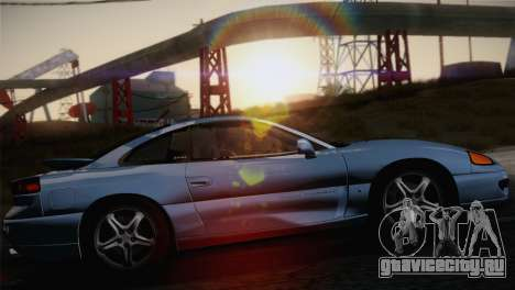 Dodge Stealth RT Twin Turbo 1994 для GTA San Andreas вид сзади слева
