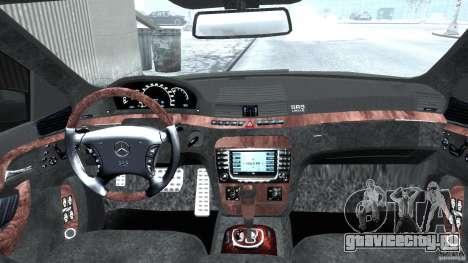 Mercedes-Benz W220 для GTA 4 вид справа
