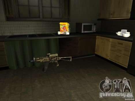 Отечественное оружие - версия 1.5 для GTA San Andreas второй скриншот
