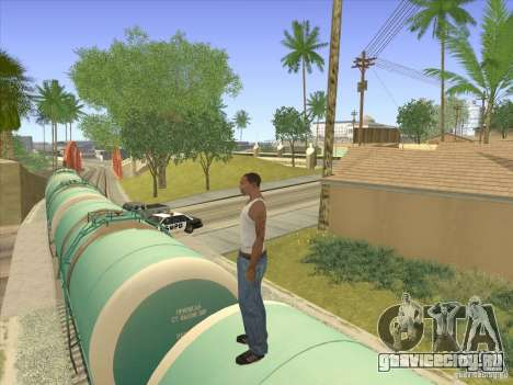 Цистерна №517 94592 для GTA San Andreas вид изнутри