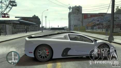 Shelby Super Cars Ultimate Aero для GTA 4 вид изнутри