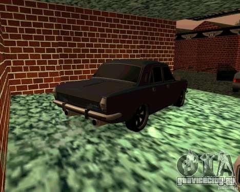 ГАЗ 24 v3 для GTA San Andreas вид сзади слева