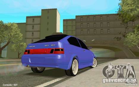 Lada 2112 Coupe для GTA San Andreas вид слева