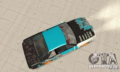 Nissan Silvia S13 NonGrata для GTA San Andreas вид сзади слева