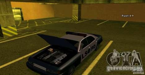 Merit Police Version 2 для GTA San Andreas вид сзади слева