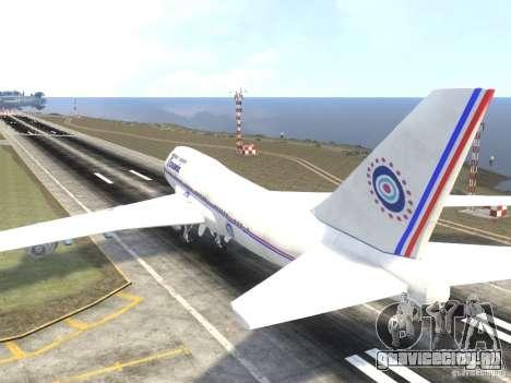 Oceanic Airlines для GTA 4 вид сзади слева