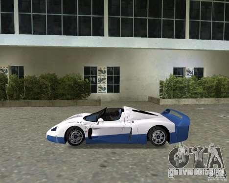 Maserati MC12 для GTA Vice City вид справа