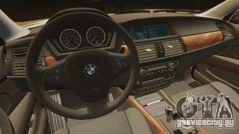 BMW X5M для GTA 4 вид изнутри