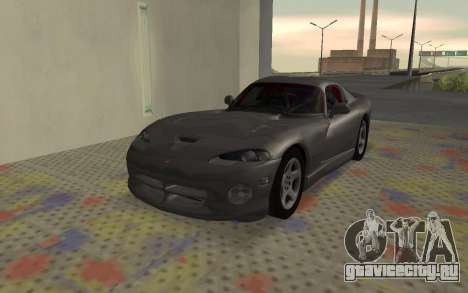 Dodge Viper GTS Tunable для GTA San Andreas