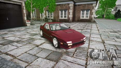 Mazda RX7 FC3S для GTA 4 вид справа