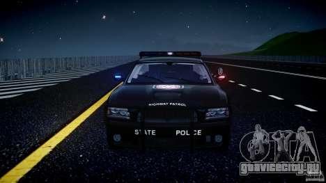Dodge Charger NYPD Police v1.3 для GTA 4 двигатель