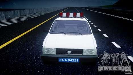 Tofas Sahin Turkish Police v1.0 для GTA 4 вид сбоку