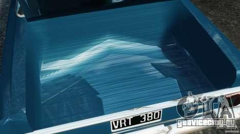 Renault Torino 380 W для GTA 4 вид сверху