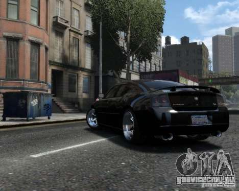 Dodge Charger RT 2006 для GTA 4 вид слева