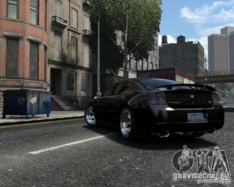 Dodge Charger RT 2006 для GTA 4 вид слева