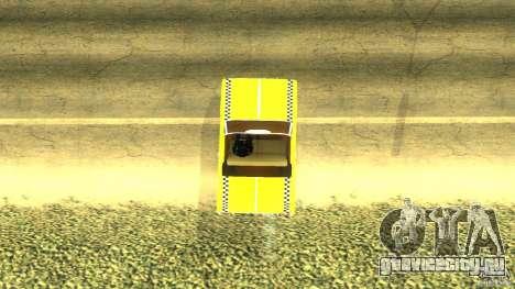 Crazy Taxi - B.D.Joe для GTA San Andreas вид сзади слева