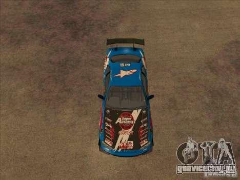 Nissan Skyline GT-R R34 Super Autobacs для GTA San Andreas вид сзади