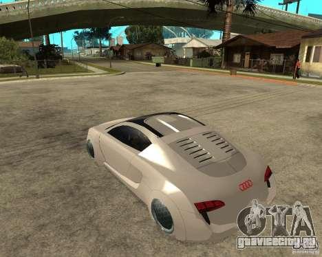 AUDI RSQ concept 2035 для GTA San Andreas вид слева