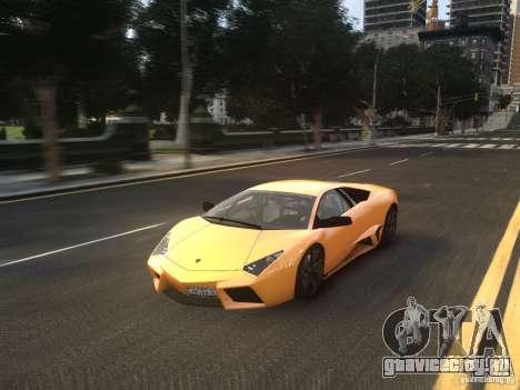 Lamborghini Reventon 2008 для GTA 4 вид сзади