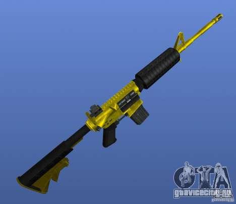 M4A1 для GTA 4 третий скриншот