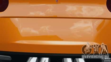 Chevrolet Corvette C6 Grand Sport 2010 для GTA 4 двигатель