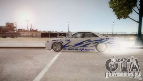 Nissan Skyline R-34 v1.0 для GTA 4 вид слева