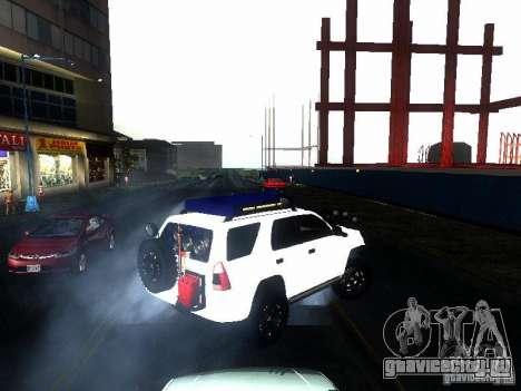 Toyota 4Runner 4X4 для GTA San Andreas вид сзади слева