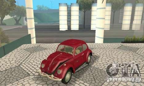Volkswagen Beetle 1963 для GTA San Andreas колёса