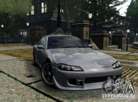 Nissan Silvia S15 для GTA 4 вид сзади