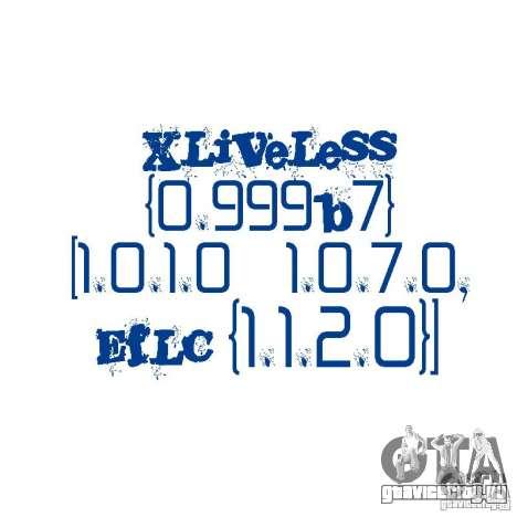 XLiveLess 0.999b7 [1.0.1.0-1.0.7.0,EfLC 1.1.2.0] для GTA 4