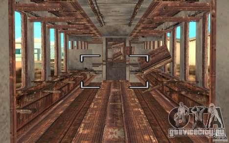 Поезд из игры Stalker для GTA San Andreas вид справа