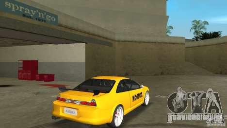 Honda Accord Coupe Tuning для GTA Vice City вид справа