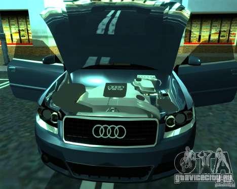Audi A4 Cabrio для GTA San Andreas вид слева