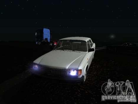 ГАЗ Волга 31029 для GTA San Andreas вид сверху