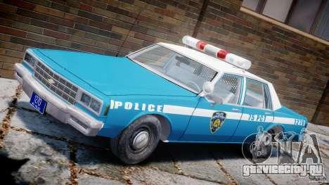 Chevrolet Impala Police 1983 v2.0 для GTA 4