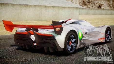 Mazda Furai Concept 2008 для GTA 4 вид снизу