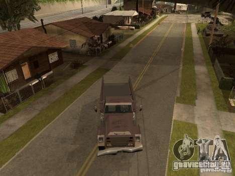 Ford Freightliner для GTA San Andreas вид сзади слева