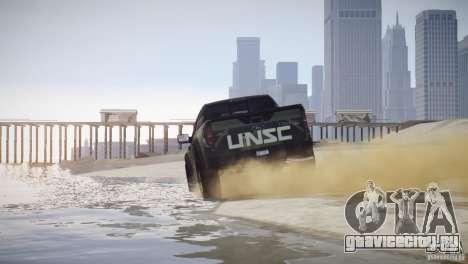 Ford F150 SVT Raptor 2011 UNSC для GTA 4 вид сзади слева