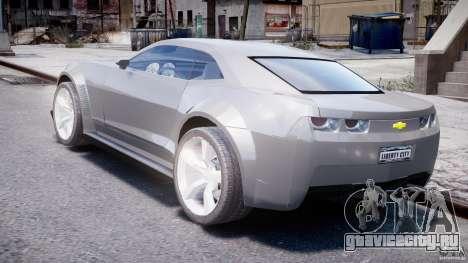 Chevrolet Camaro 2009 для GTA 4 вид сзади слева