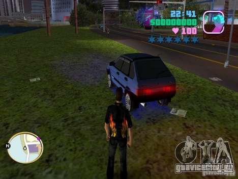 ВАЗ 2109 Samara для GTA Vice City вид слева