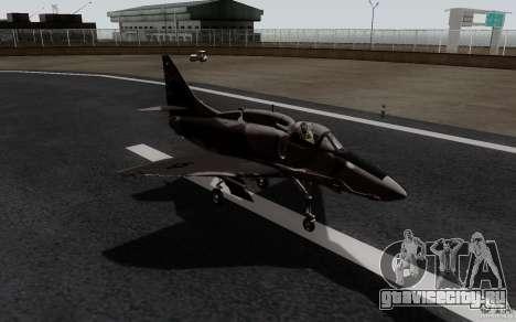 McDonnell Douglas A-4AR Fightinghawk для GTA San Andreas вид сзади слева