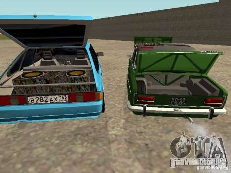 Москвич 2141 для GTA San Andreas колёса