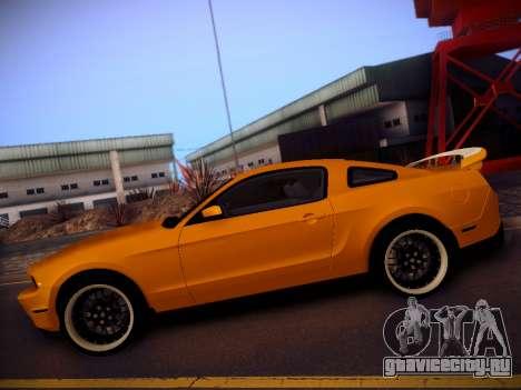 Ford Mustang GT 2010 Tuning для GTA San Andreas вид слева