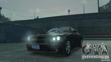 Dodge Charger 2007 SRT8 для GTA 4