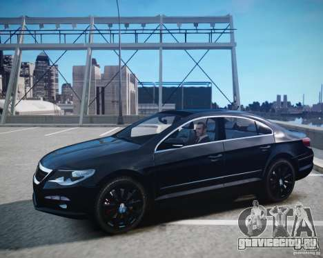 Volkswagen Passat CC для GTA 4 вид сзади