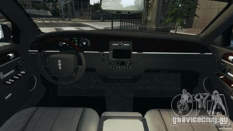 Lincoln Town Car 2006 v1.0 для GTA 4 вид сзади